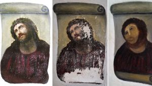 Botched Jesus Fresco